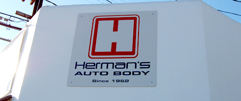 Welcome to Herman's Auto Body